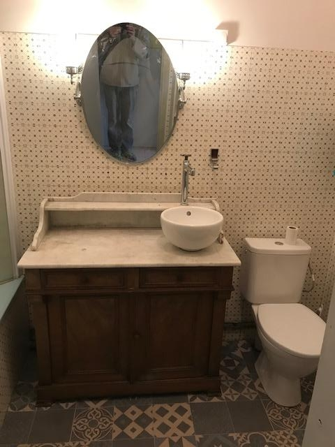 salle de bain style ancien